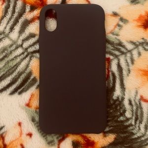 Mat grey Heyday iPhoneX case